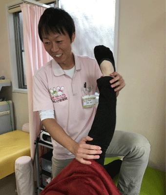 膝に対する施術方法